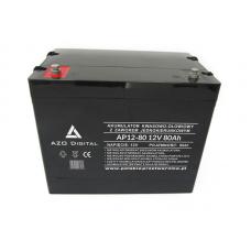 VRLA AGM akumuliatorius AP12-80 12V 80Ah, neaptarnaujamas