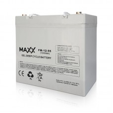 Gelinis akumuliatorius 12-FM-55 55AH 12V