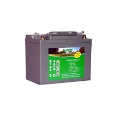 Gelinis gilaus iškrovimo akumuliatorius HAZE EV 12 - 75 AH