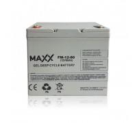 Gelinis akumuliatorius 12-FM-80 80AH 12V