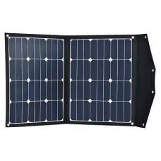 Nešiojama saulės baterija 2X40W su krovimo reguliatoriumi 10A