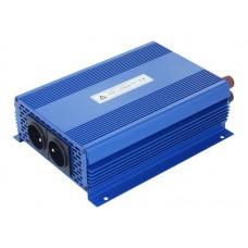 Įtampos keitiklis (inverteris) IPS-1400S ECO MODE, SINUS 12VDC/230VAC