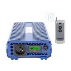 Įtampos keitiklis (inverteris) IPS-2000S PRO ECO MODE, SINUS 12VDC/230VAC