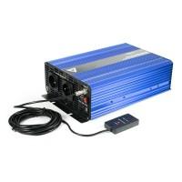 Įtampos keitiklis (inverteris) 12 VDC / 230 VAC SINUS IPS-3000S 3000W