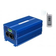 Įtampos keitiklis (inverteris) 24 VDC / 230 VAC ECO MODE SINUS IPS-5000S PRO 5000W