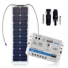 Saulės modulių komplektas laivui 4SUN-FLEX 55W PRESTIGE NARROW / LS0512EU