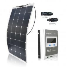 Saulės modulių komplektas laivui FLEX 110W / MPPT EPSOLAR 10A