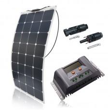 Saulės modulių komplektas laivui FLEX 110W / MPPT LUMIAX 10A