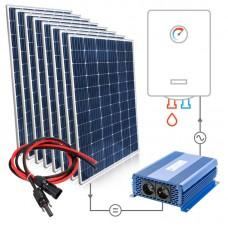 Saulės baterijų komplektas 8x315W Mono vandens šildymui boileriuose su MPPT SOLAR BOOST