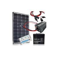 Saulės baterijų komplektas 100W / 12V--230V