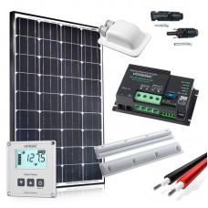 Saulės baterijų komplektas kemperiui 100W - PREMIUM