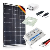 Saulės baterijų komplektas kemperiui 100W Prestige