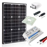 Saulės baterijų komplektas kemperiui 130W MAXX