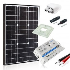 Saulės baterijų komplektas kemperiui 50W MAXX