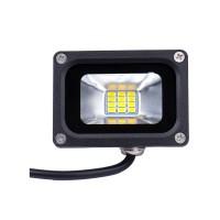 LED šviestuvas 10W 12V, šiltai baltos spalvos