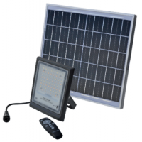 Autonominis LED šviestuvas LED ED60 (60W) + saulės modulis (16W)