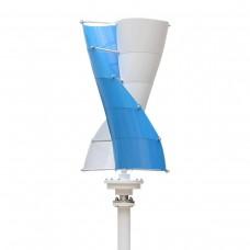 Vertikali vėjo jėgainė (turbina) SV-400 (400W 12V) su krovimo reguliatoriumi